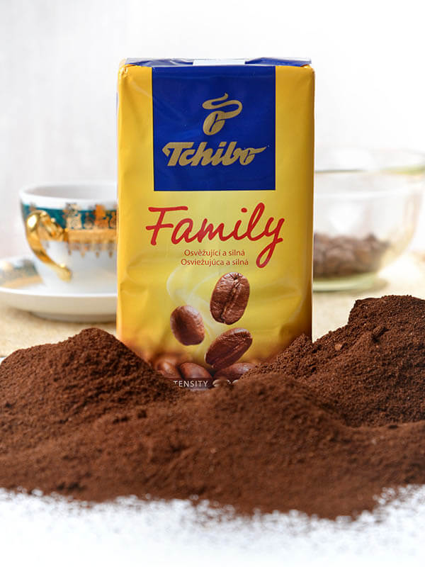 Tchibo Family coffee, 250 g, roasted ground