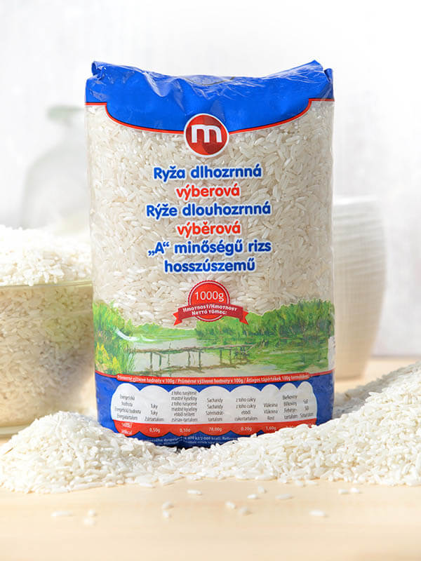 "Long-grain choice rice ""A"" 1kg, MY"