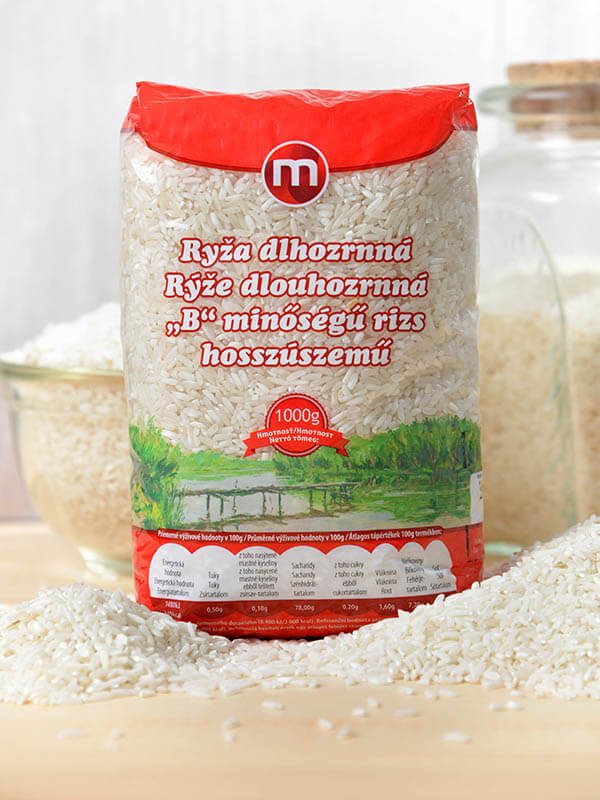 "Long-grain rice ""B"" 1kg, MY"